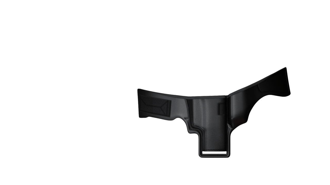 3 Speed Holster Front side